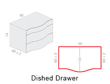 Dished Drawer